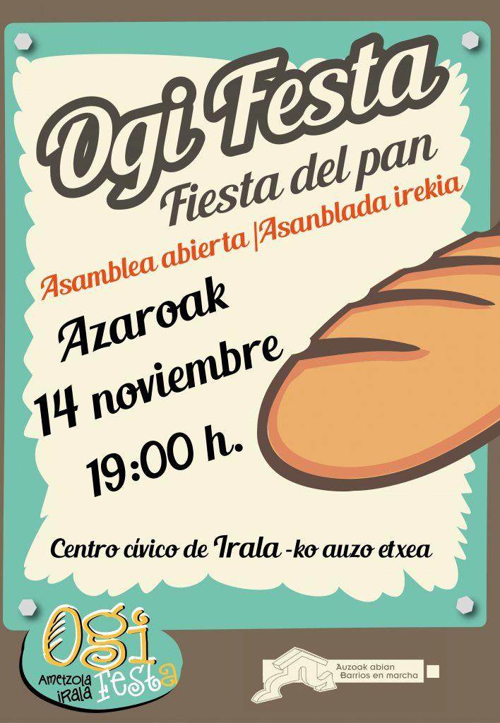 Ogiaren Festa V. Fiesta del Pan